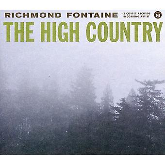 Richmond Fontaine - høje land [CD] USA importerer