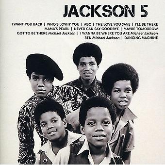 Jackson 5 - importar de USA icono [CD]