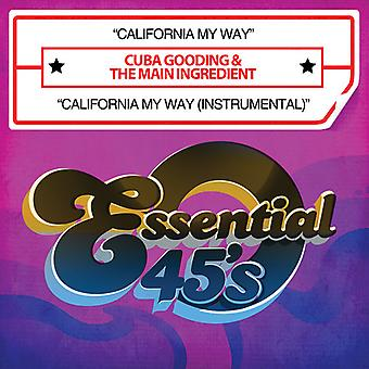 Cuba Gooding & the Main Ingredient - California My Way/California My Way (Instrumental) [CD] USA import