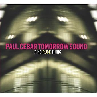 Cebar, Paul morgen Sound - onbeleefd fijn [CD] USA import