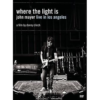 John Mayer - Where the Light Is: John Mayer Live i Los Angeles [DVD] USA import