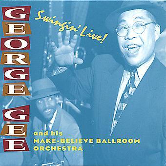 George Gee & His Make-Believe - Swingin' Live [CD] USA import