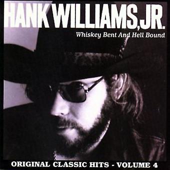 Hank Williams Jr. - Hank Williams Jr.: Vol. 4-Whiskey Bent & Hell [CD] USA import