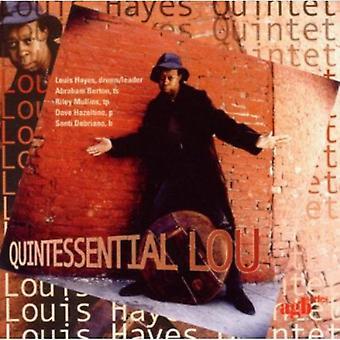 Louis Hayes kvintet - kvintessens Lou [CD] USA import