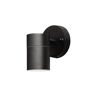 Konstsmide Modena Down Wall Light Black
