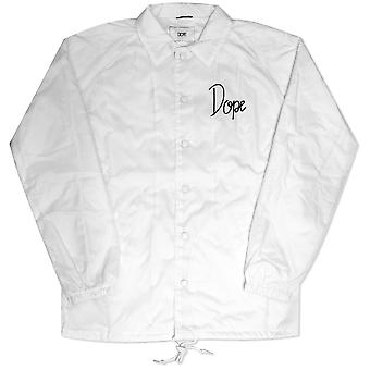 Dope Couture Worldwide Tour Coaches Jacket White