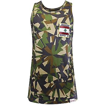 Diamond Supply Co My Country Tank Top Camo