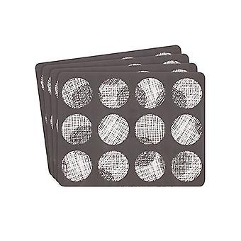 Ladelle Spotto plade sæt 4 dækkeservietter
