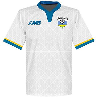 2015-2016 Rwanda Away Football Shirt
