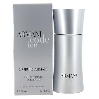 Giorgio Armani Code Ice 50ml Eau de Toilette Spray for Men