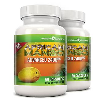 Pure African Mango Advanced 2400mg - 120 Capsules - Evolution Slimming