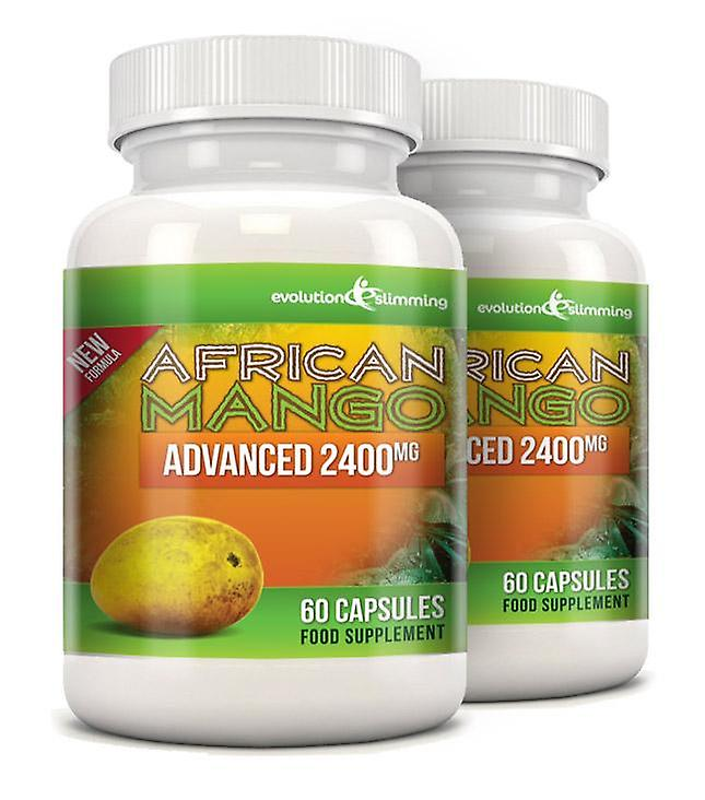 Pure African Mango Advanced 2400mg - 120 Capsules - Dietary Supplement - Evolution Slimming