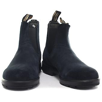 Blundstone 1462 Navy Suede Unisex Chelsea Boots