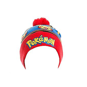 Pokemon Beanie bobble Hat Logo With Pikachu new Official