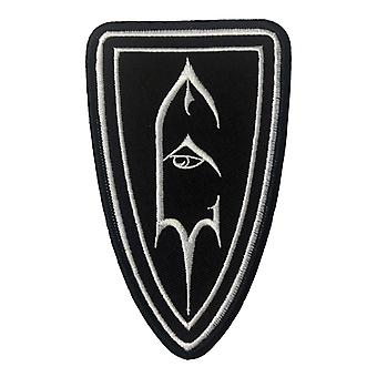 Emperor Patch Shield Symbol Logo Official New Black Cotton Sew On 7cm x 11.5cm