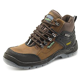 Click Hiker Safety Boot Brown S3 - Ctf31
