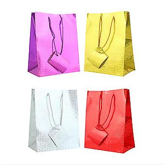 Tallon Holographic Gift Bags (Pack Of 12)