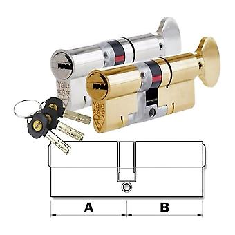 Yale Yale Thumb Turn Euro Cylinder Door Lock AS Platinum TS007 3* Star