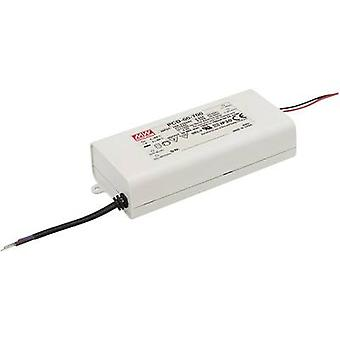 LED driver Constant current Mean Well PCD-60-1400B 60 W (max)