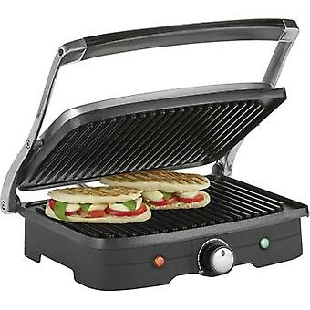 Table Grill press Tristar GR-2840 with manual temperature settings Stainless steel, Black