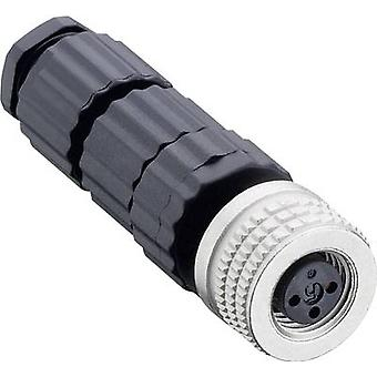 Hirschmann 933 367-100 ELKA 4008 V MiniQuick M8 Cable Sockets And Connectors, Ready For Assembly Type (misc.) Cable sock