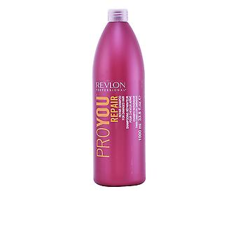 Revlon Proyou Repair Shampoo For Damaged Hair 1000ml Unisex New