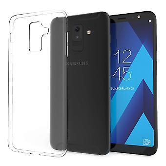 Samsung Galaxy A6 Plus (2018) Ultra tunn TPU Gel - klart