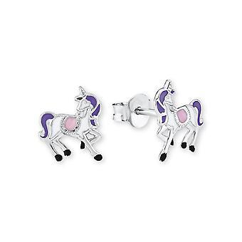 Princess Lillifee children earrings silver unicorn Rosalie 2013148