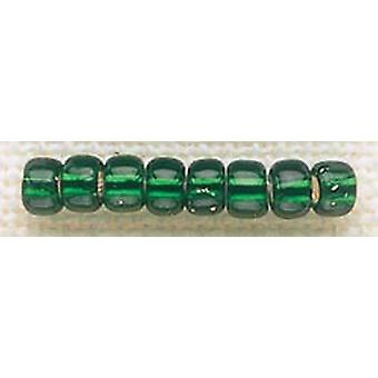 Mill Hill Glass Beads Size 6/0 4mm 5.2g-Brilliant Green