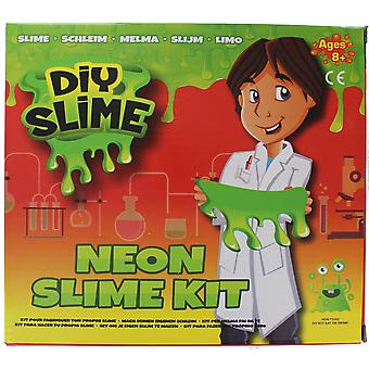 PMS DIY Slime Neon Slime Kit Childrens Creative Activity Sticky Stretchy Relief