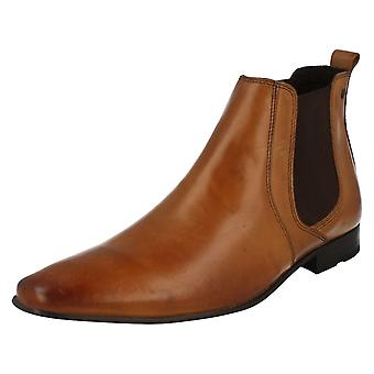 Mens Base London Smart Pull On Boots Arthur