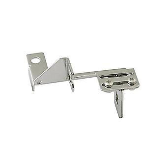 Mr. Gasket 6039 Steel Throttle Cable Bracket - Chrome Plated