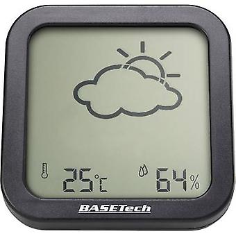 Basetech Thermo-hygrometer Anthracite