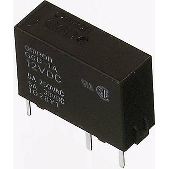 OMRON G6D-1A-ASI 24DC PCB Relés de 24 VCC 5 A 1 cafetera 1 PC