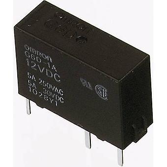 Omron G6D-1A-ASI 24DC PCB relays 24 Vdc 5 A 1 maker 1 pc(s)