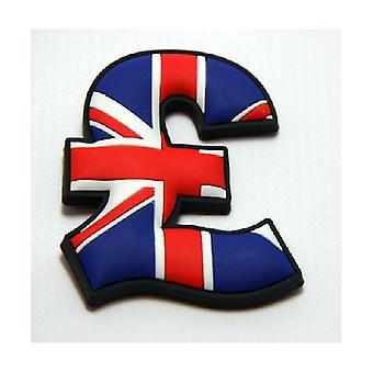 Union Jack Wear Union Jack Pound Sign Fridge Magnet   £ £ £