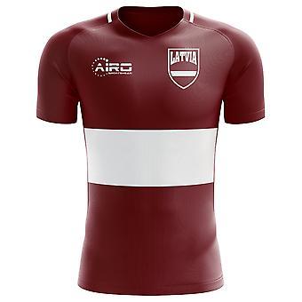 2018-2019 لاتفيا مفهوم الوطن لكرة القدم قميص (الأطفال)