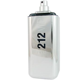 212 VIP Men de Carolina Herrera 3.4 oz Eau de Toilette Spray probador