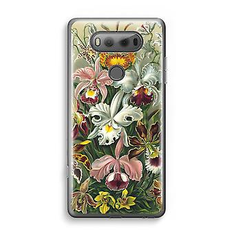 LG V20 Transparent Case - Haeckel Orchidae