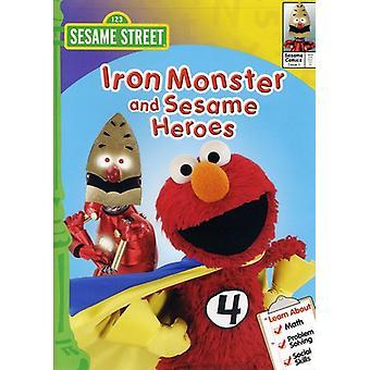 Sesame Street - Iron Monster & Sesame Heroes [DVD] USA import