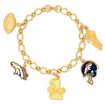 Wincraft ladies of charms bracelet - NFL Denver Broncos