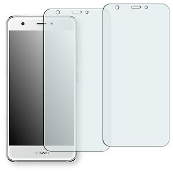 Huawei Nova screen protector - Golebo Semimatt protector (deliberately smaller than the display, as this is arched)