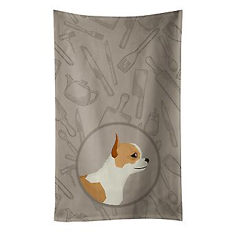 Carolines Treasures  CK2177KTWL Chihuahua In the Kitchen Kitchen Towel