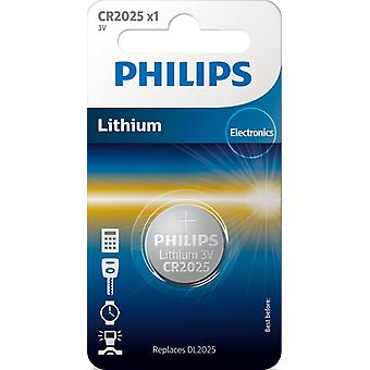 Pile bouton CR2025 Philips
