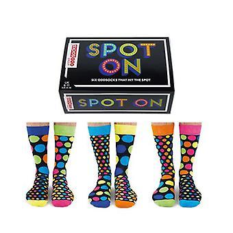 United Oddsocks Novelty Spotted Socks