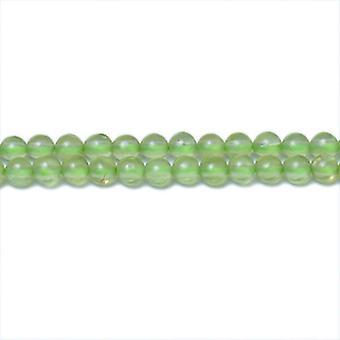 Strand 200+ Green Peridot 1.5mm Plain Round Beads CB31344-1