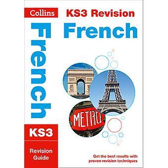 KS3 الفرنسية مراجعة دليل--الكتاب 9780007562848