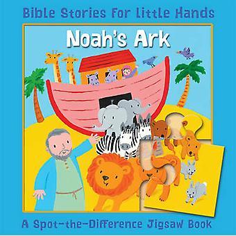 Arca - un libro de rompecabezas de terreno de la diferencia de Lois Rock - Emily Bo Arca de Noé