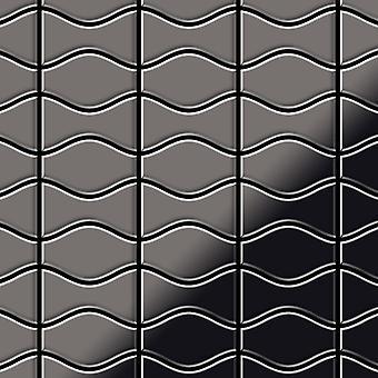 Metal mosaic Titanium ALLOY Kismet-Karma-Ti-SM