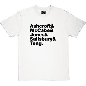 The Verve Line-Up Men's T-Shirt